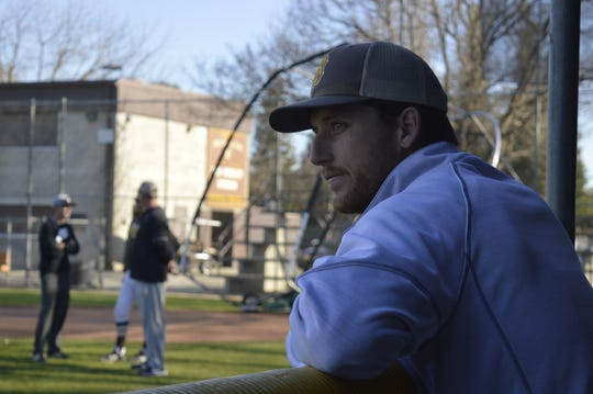 Brent Hall is the Golden West High School baseball coach. Hall is in his first season with the Trailblazers.