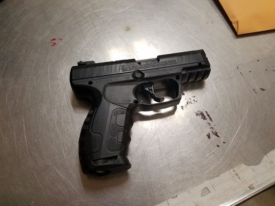 Schools in Marshfield were locked down Friday while police searched for two teenagers believed to be in possession of a gun. Officers found the teens and the weapon, which turned out to be a BB gun.