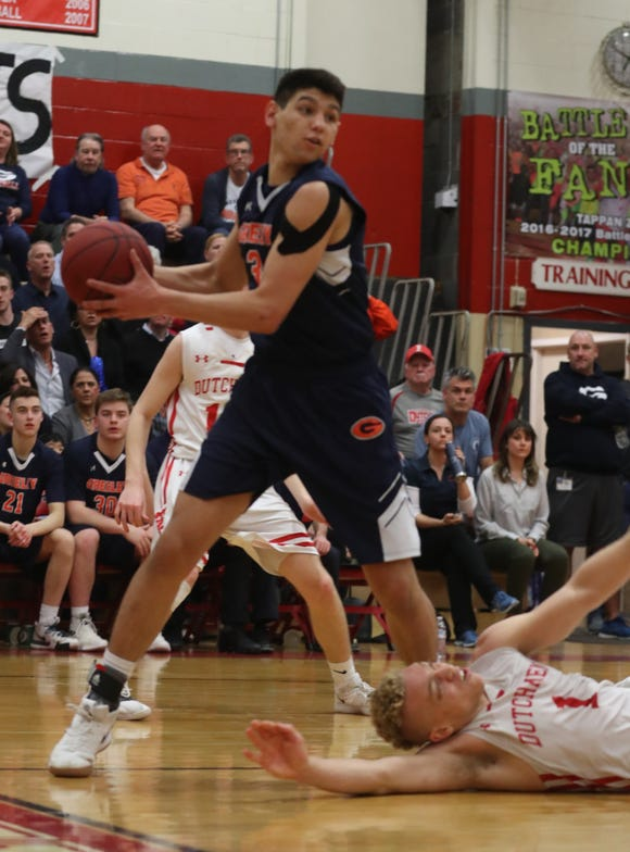 Tappan Zee defeated Greeley 67-60 in double overtime to win the Class A semifinal basketball game at Tappan Zee High School Feb. 28, 2019.