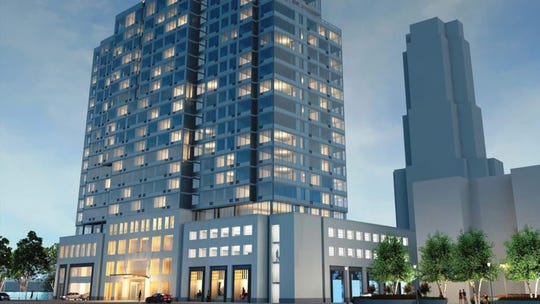 A 20-story affordable housing project with 280 apartments was approved for 11 Garden St.