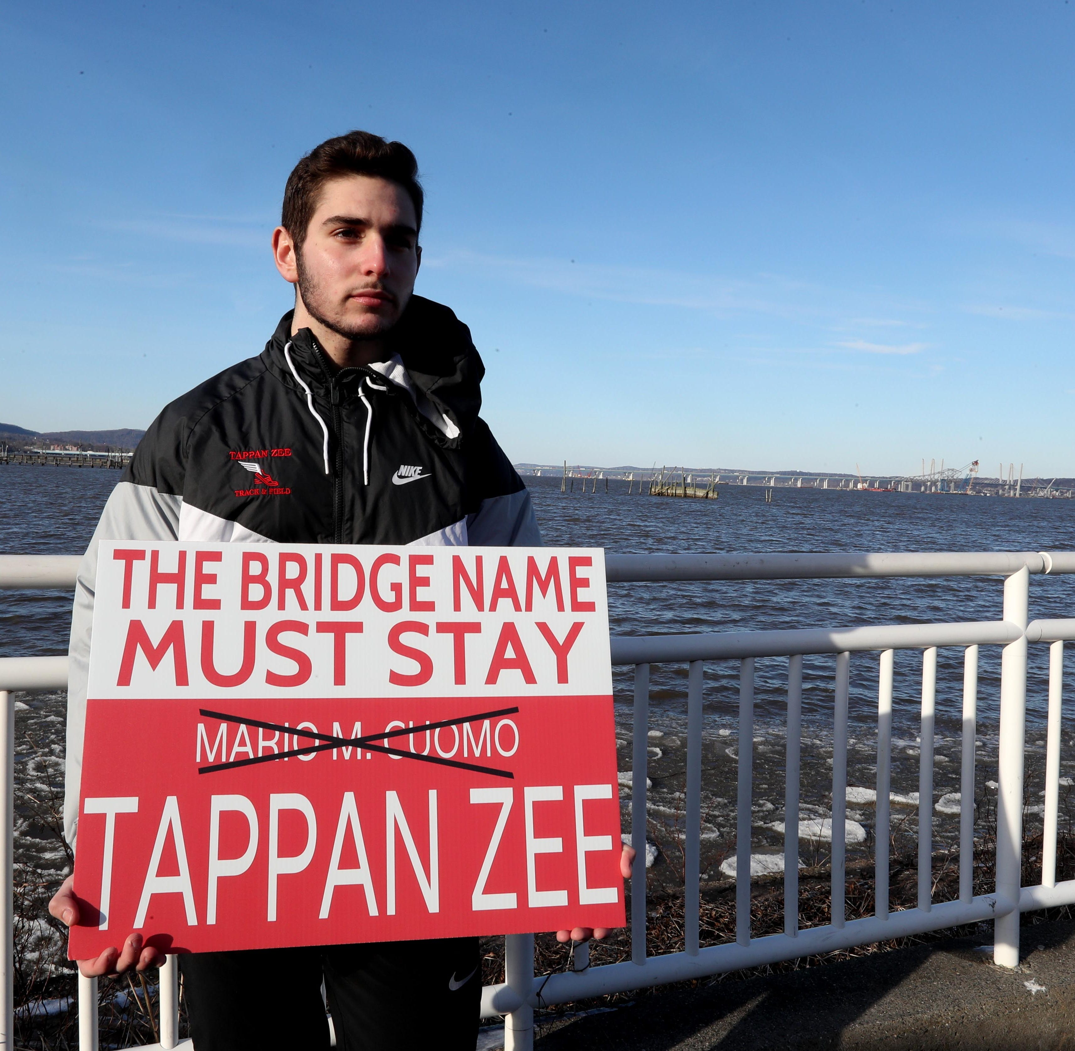 Tappan teen's sign of the times: TZ forever, not Mario
