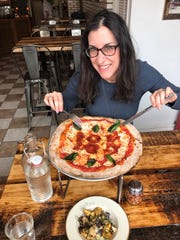 Lohud food and dining reporter Jeanne Muchnick dives into pizza at Pizzeria La Rosa in New Rochelle where the chef made a special 18K in pepperoni to honor the 18K-plus Instagram followers.