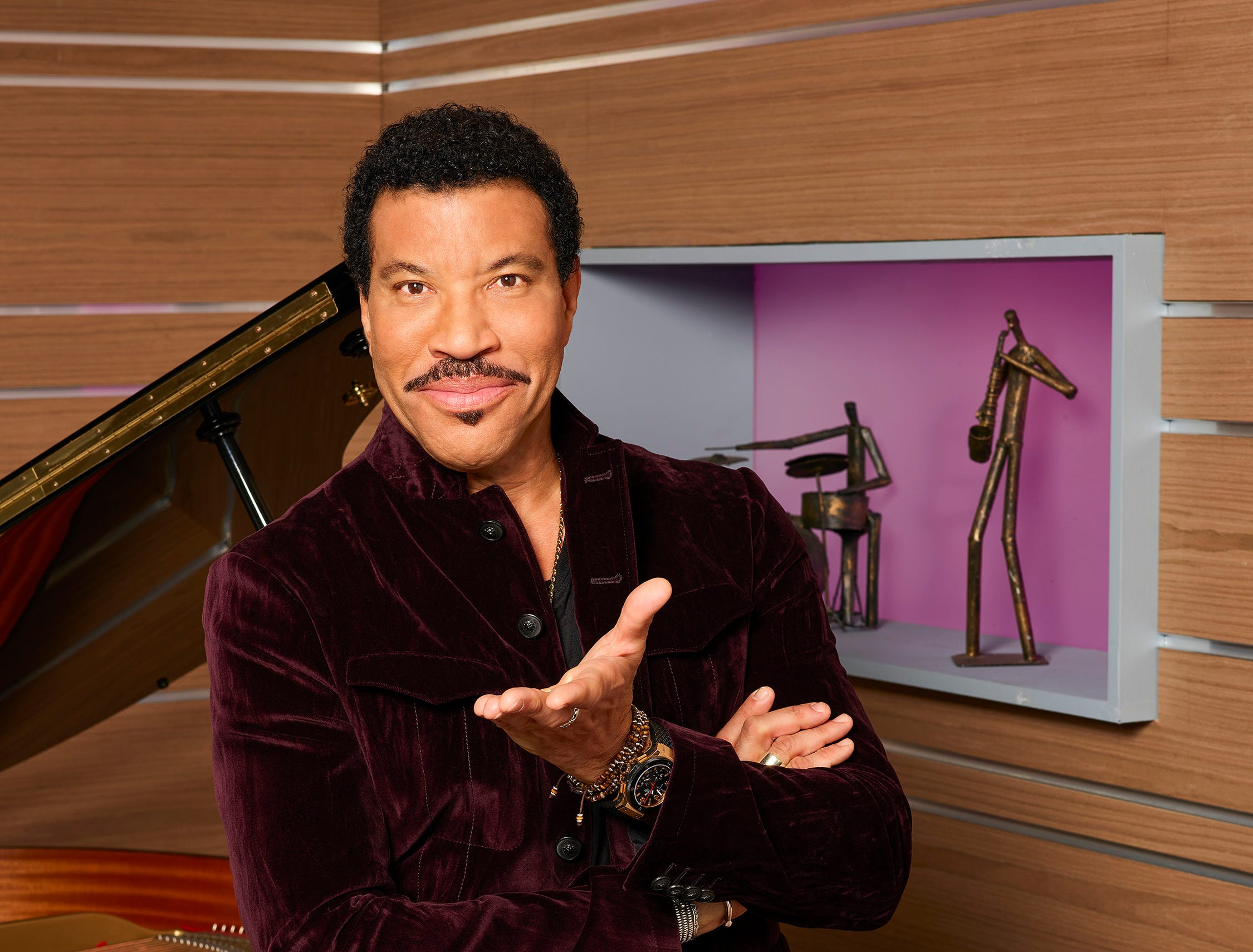 "ABC's ""American Idol"" judge Lionel Richie."