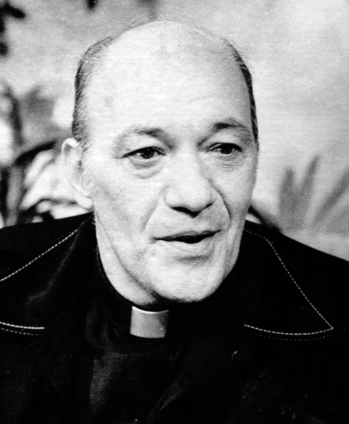 Father Bernard T.  Pagano in 1979. Forty years ago, police charged the Catholic priest in the Diocese of Wilmington with the Gentleman Bandit crimes. The arrest shocked many of his parishioners.