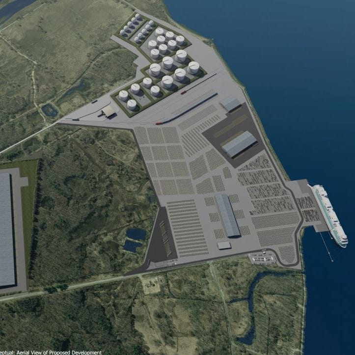 Energy company says it's bringing LNG port to the Delaware River