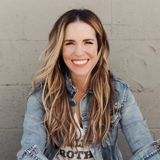Writer and motivational speaker Rachel Hollis leads women through a three-day personal growth conference called Rise Weekend next week at Hertz Arena.