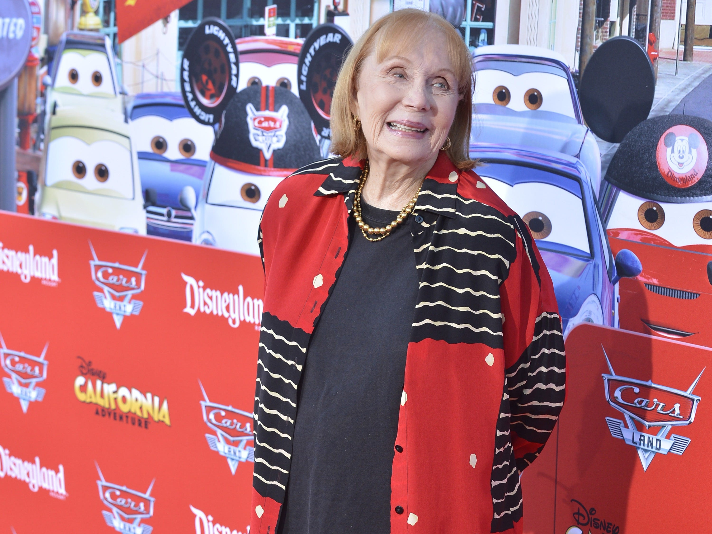 "Actress Katherine Helmond poses during a red carpet event to celebrate the opening of Cars Land at Disney California Adventure park during a red carpet event to celebrate the opening of Cars Land at Disneyland Resort on June 13, 2012 in Anaheim, Calif. Helmond, best known as the grandmother who was hot for housekeeper Tony Danza on ""Who's The Boss,"" died last Saturday, Feb. 23, 2019, of complications from Alzheimer's disease at her home in Los Angeles, her talent agency APA announced Friday, March 1, 2019. She was 89."