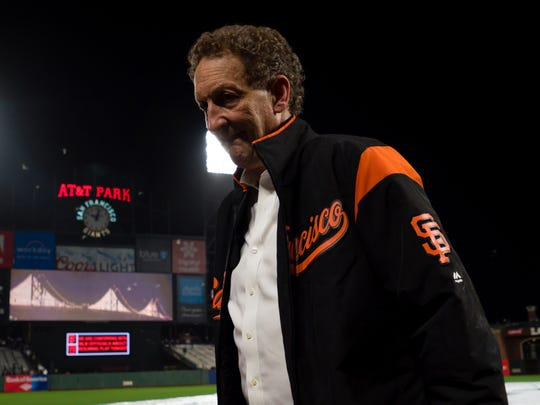 San Francisco Giants chief executive officer Larry Baer.