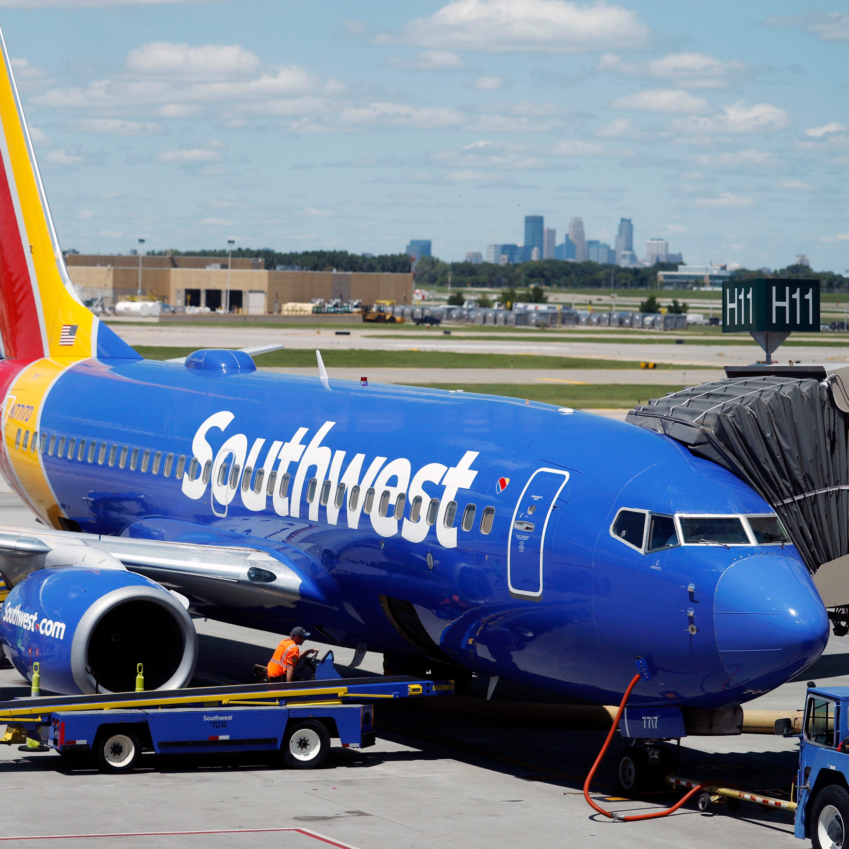 A Southwest Airlines Boeing 737 photographed on July 17, 2018.