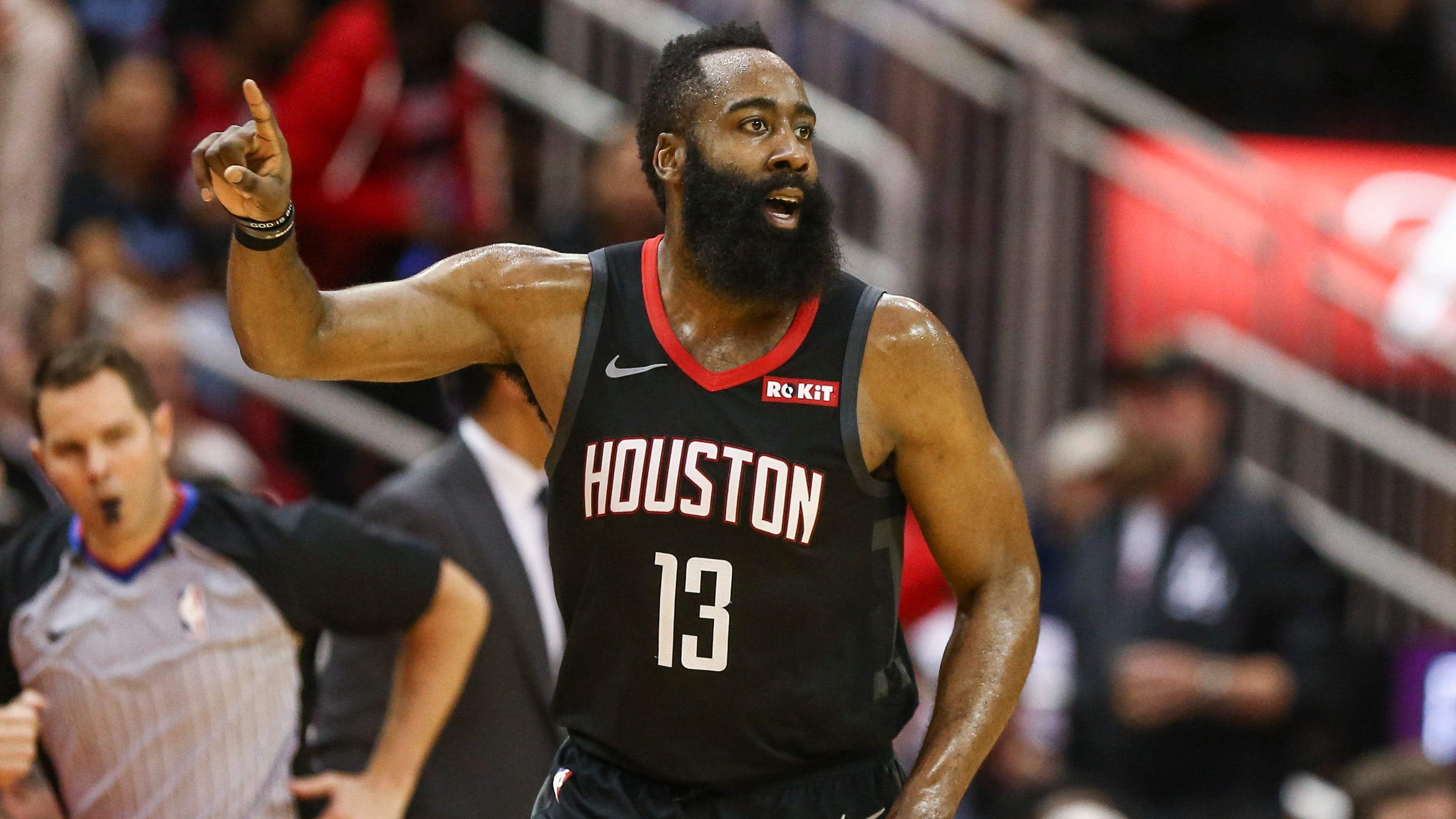 ca30aafc81d0 James Harden pours in 58 points to rally Rockets past Heat