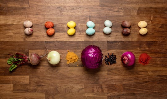How to create all-natural Easter egg dyes