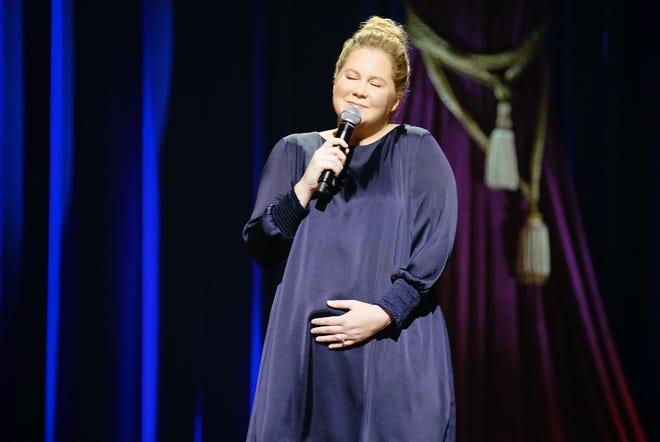 "Amy Schumer got real about pregnancy in her comedy special ""Growing."""