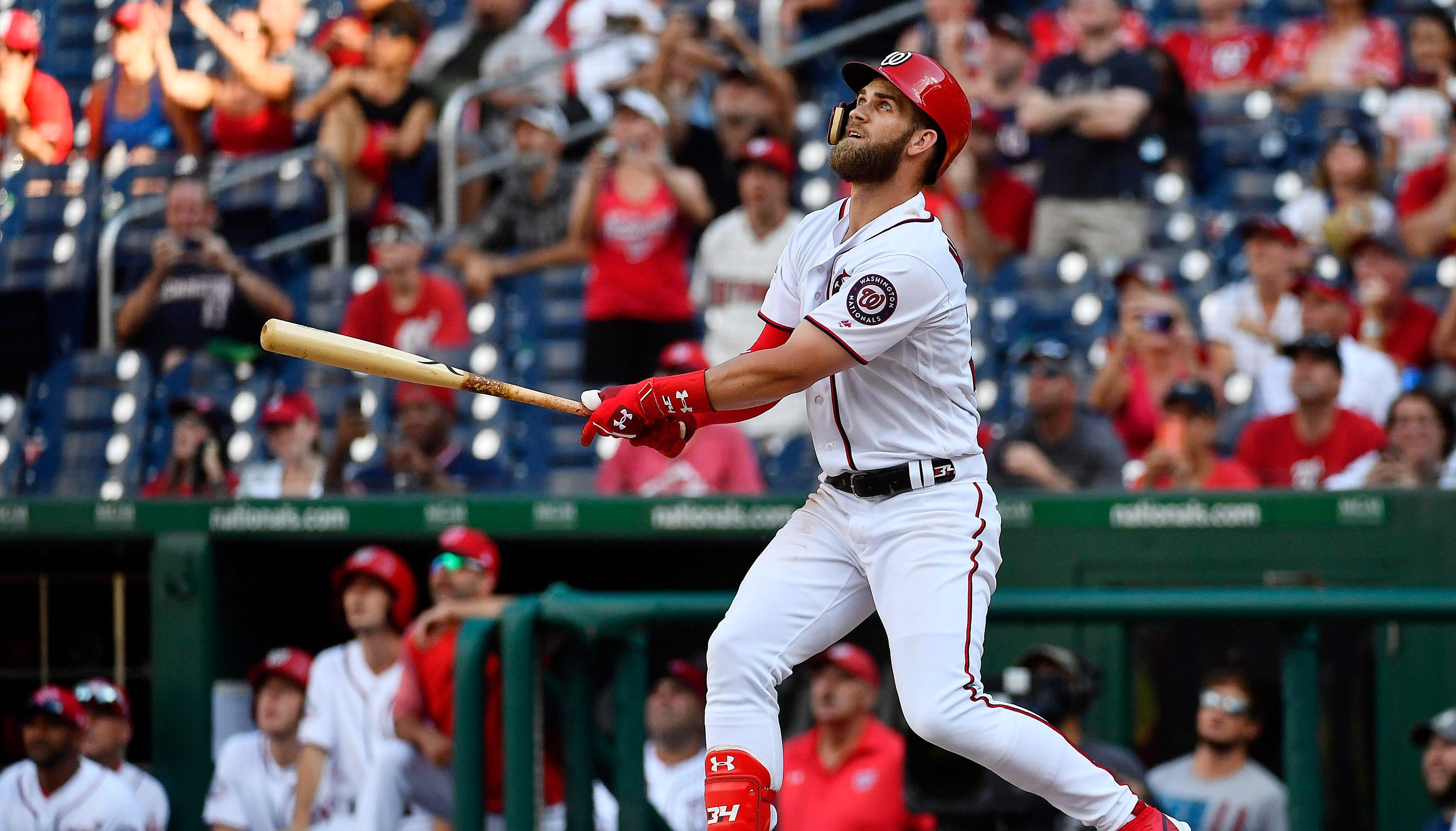 Bryce Harper: How the Phillies' lineup could look with superstar