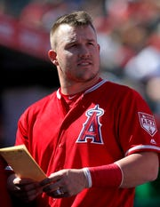 Mike Trout becomes a free agent after the 2020 season.