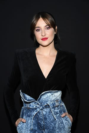 Actress Shailene Woodley attends the Balmain show as part of Paris Fashion Week in 2019.