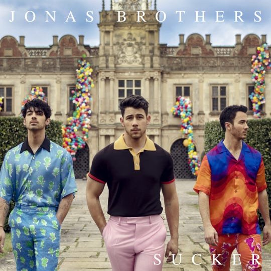 f234c04d9d72 Jonas Brothers  new music video  Sucker  features loves Priyanka Chopra