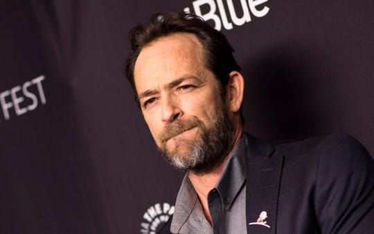 Actor Luke Perry has died after suffering a stroke last week.