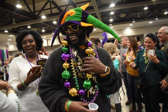 A Taste of Mardi Gras was held in March at at the Alexandria Edward G. 'Ned' Randolph, Jr., Riverfront Center in downtown Alexandria. The facility was recently renamed for the late former Mayor Randolph.