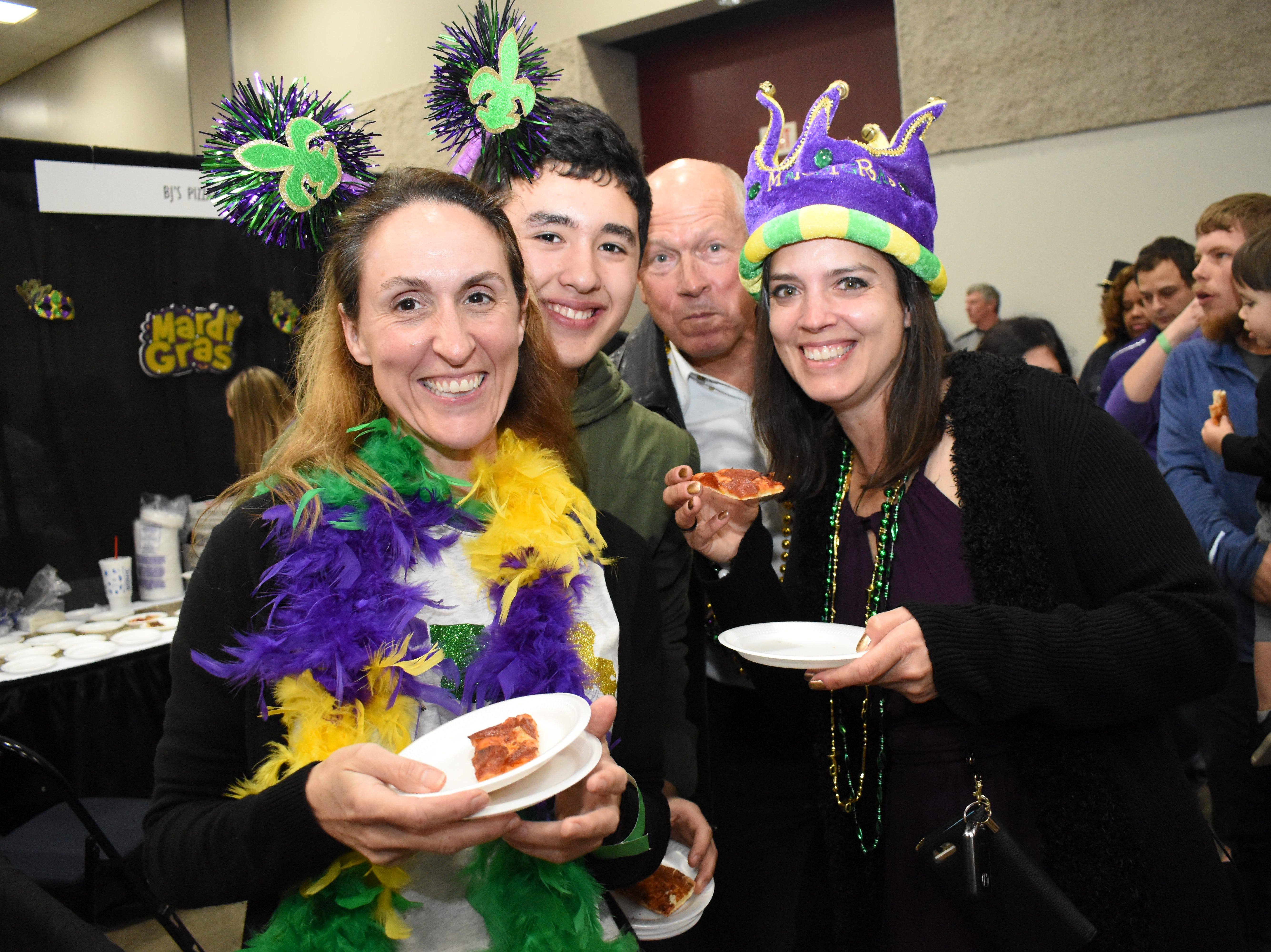 "The Louisiana Restaurant Association's Cenla Chapter held the annual A Taste of Mardi Gras Friday, March 1, 2019 at the Alexandria Edward G. 'Ned' Randolph, Jr., Riverfront Center in downtown Alexandria. Local restaurants served ""tastes"" and drinks from their menus while guest enjoyed music and a second line."