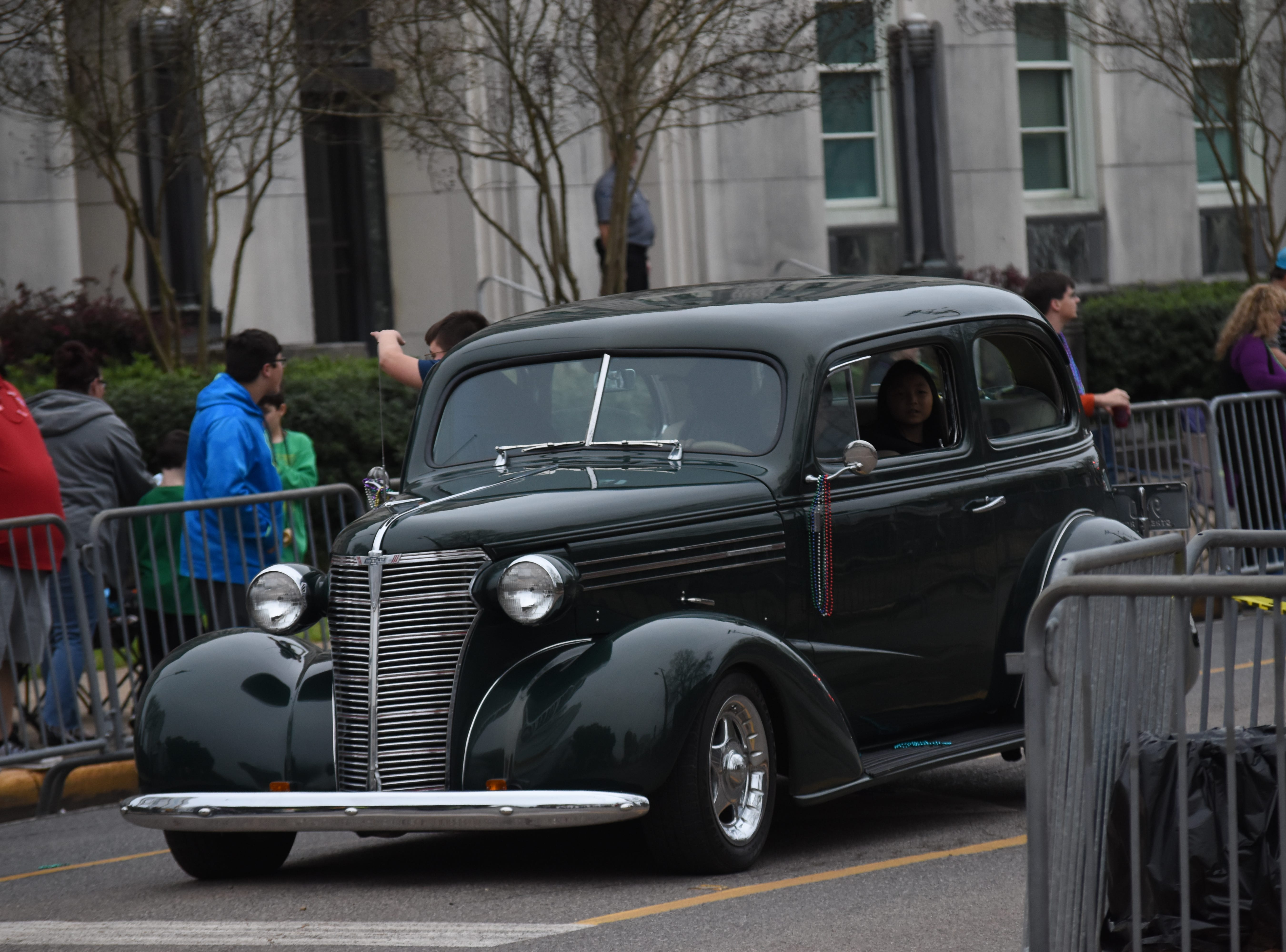 The Hixson Classic Cars and Cheerleaders Parade held Friday, March 1, 2019.