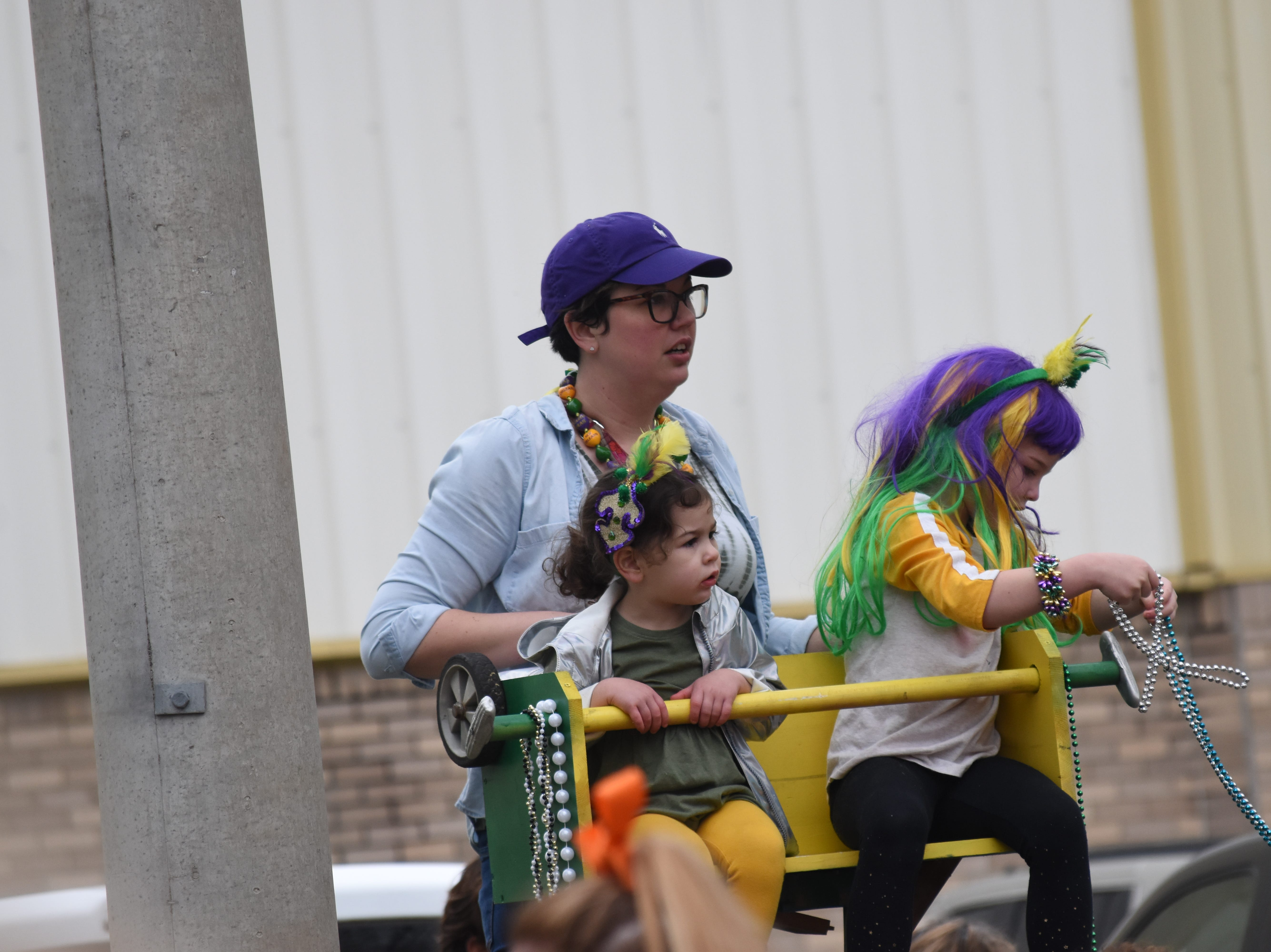 The Children's Mardi Gras Parade was held Saturday, March 2, 2019 in downtown Alexandria.