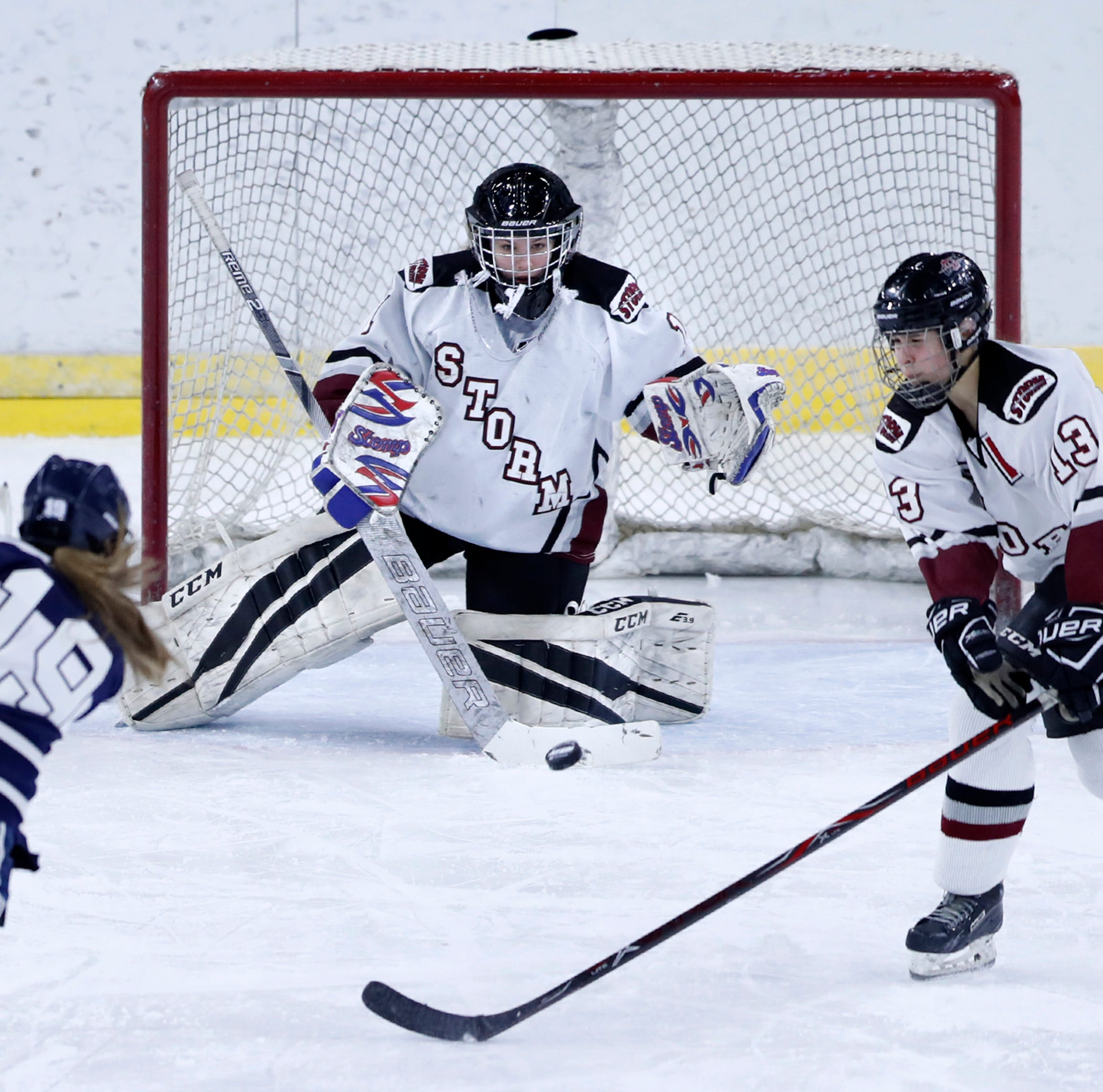 WIAA state hockey: Central Wisconsin Storm falls to Hudson in four-overtime semifinal thriller