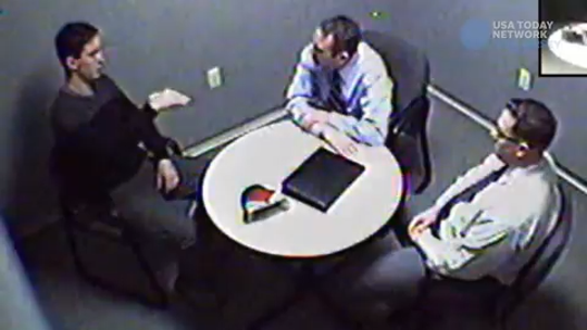In a video obtained by the USA TODAY NETWORK NJ, Preston Taylor is interrogated about his role in the death of  Sarah Stern.
