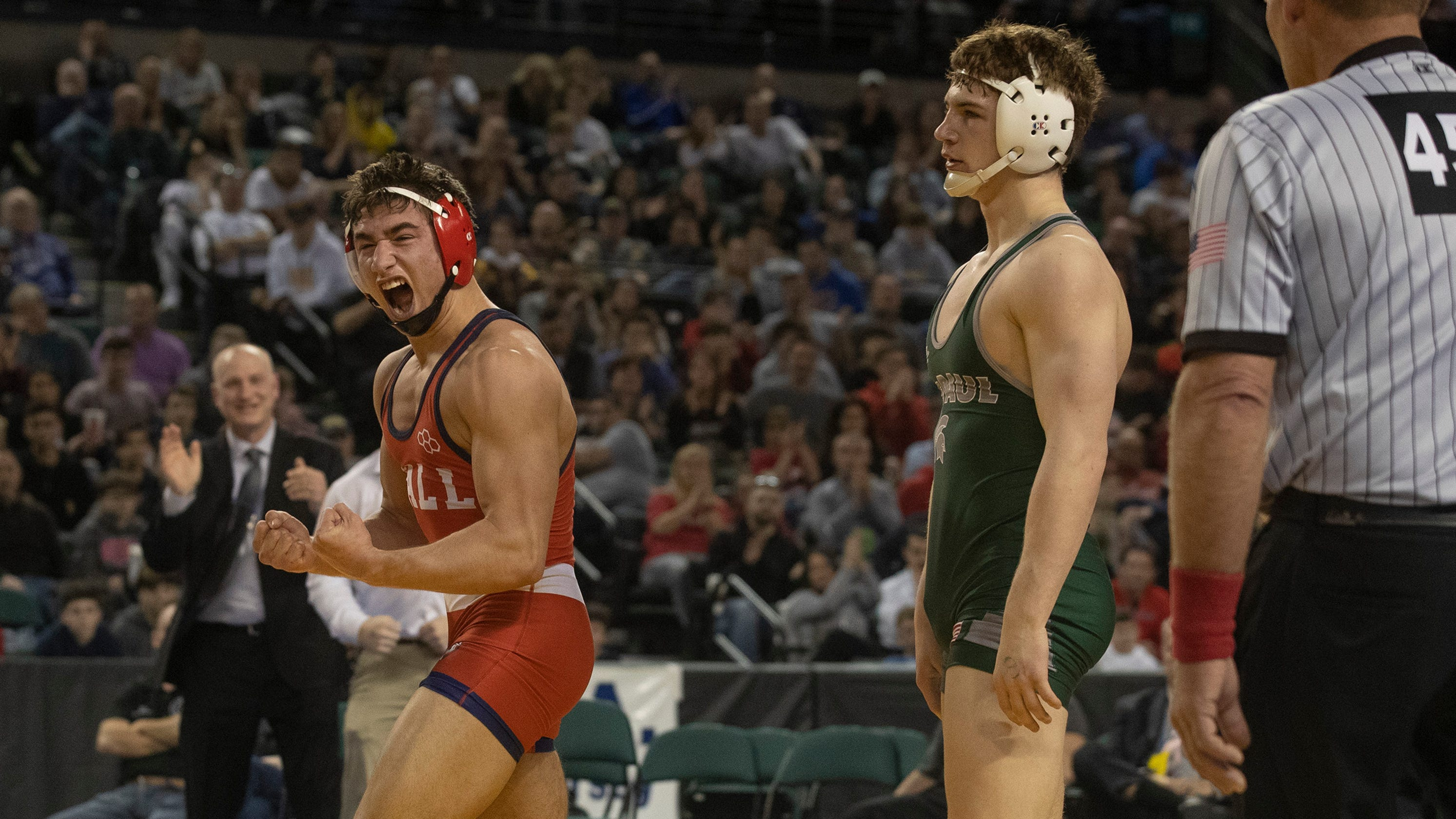 NJ wrestling: Robert Kanniard of Wall gets to the top of the podium