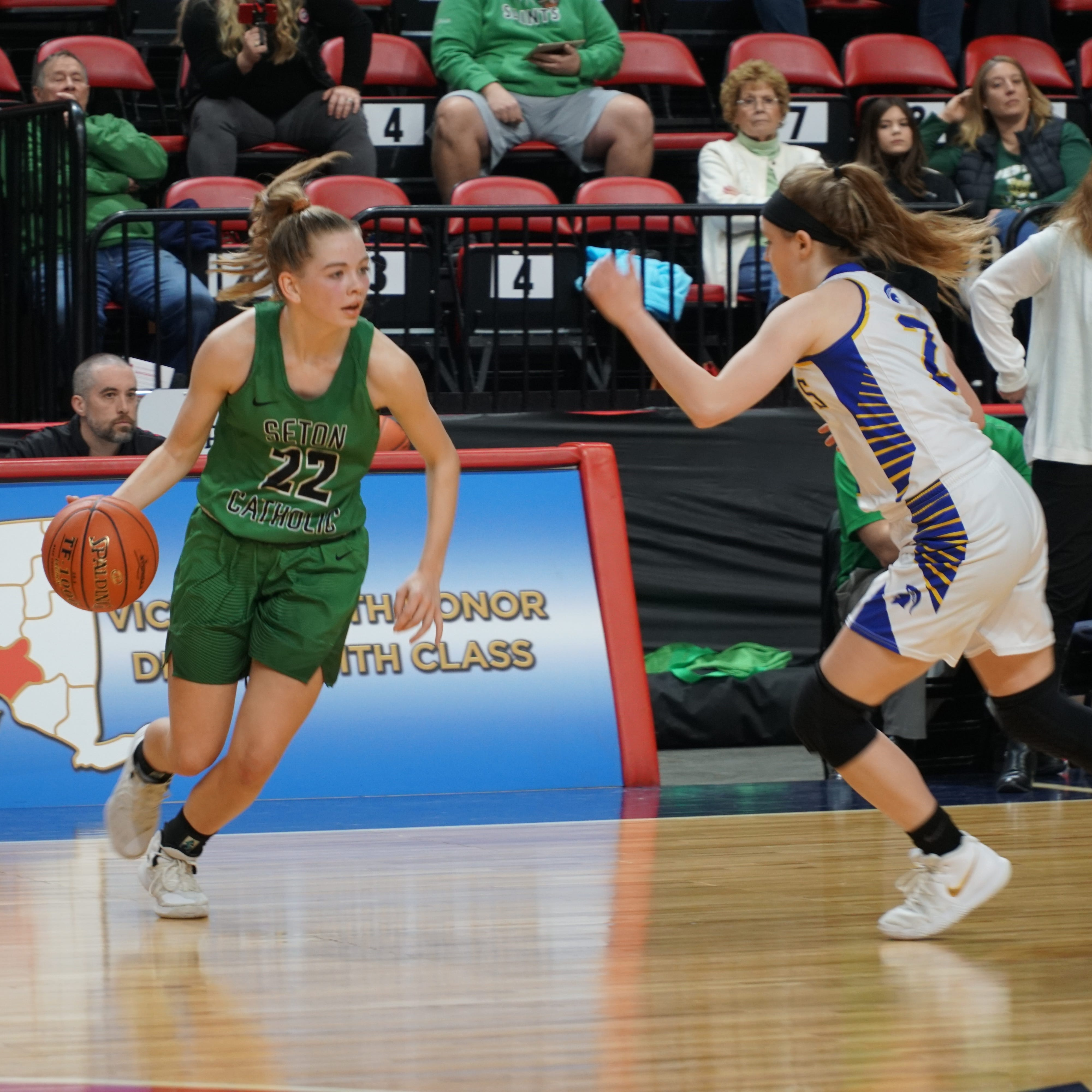 Girls Basketball: Seton Catholic Central wins fourth straight sectional title
