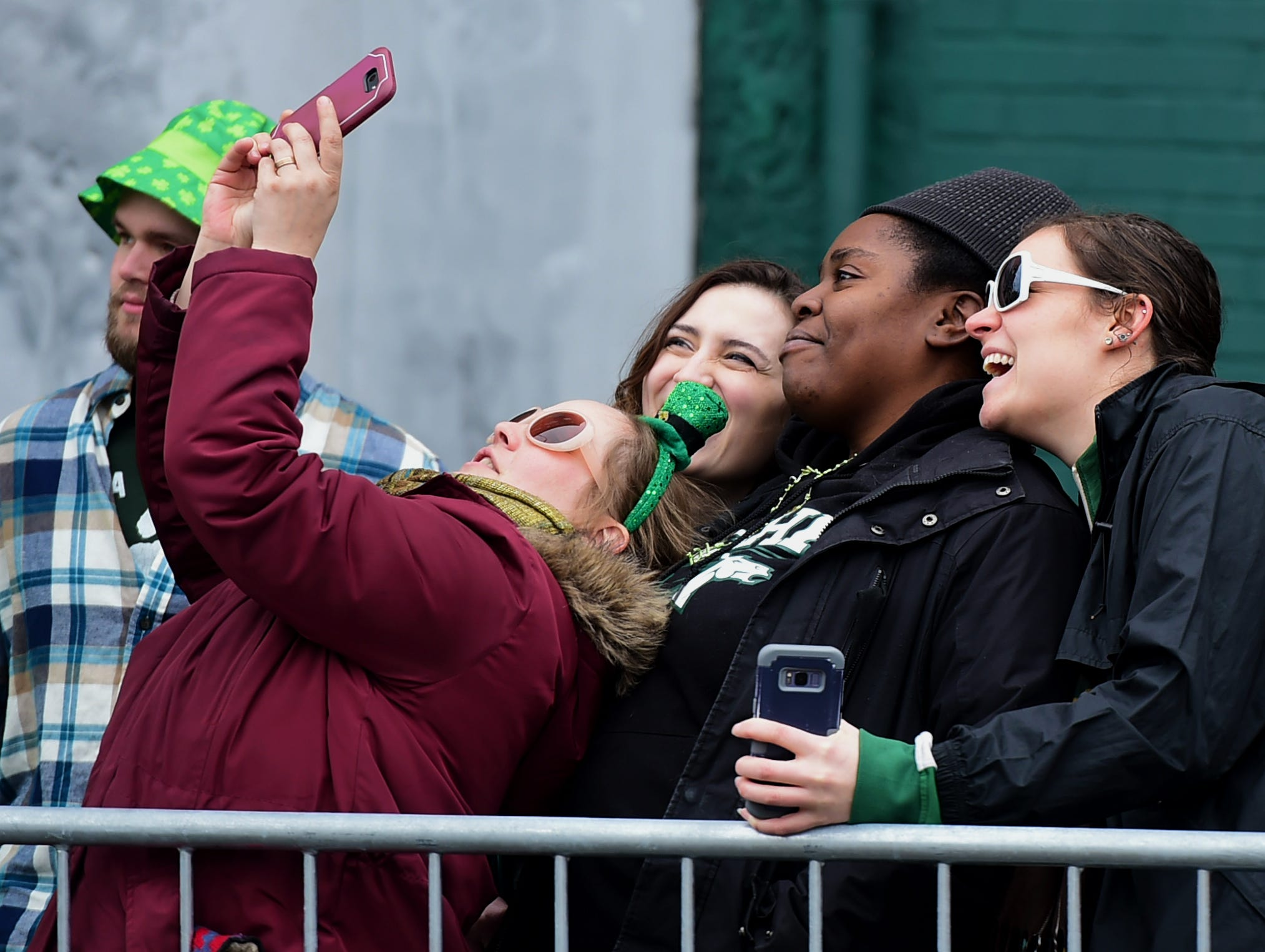 The annual St. Patrick's Day Parade in downtown Binghamton drew thousands to celebrate Ireland's patron saint. March 2, 2019.