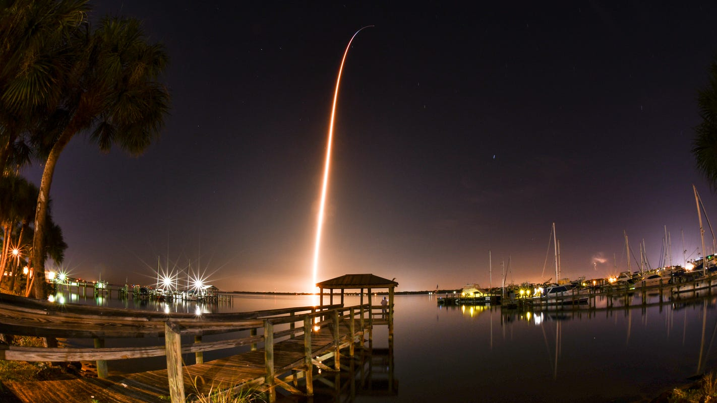 NASA, Kennedy Space Center team wins Emmy for coverage of SpaceX mission