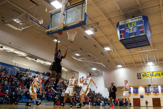 Liberty Hill vs. West Oso in Region IV-4A semifinal at Steinke Physical Education Center in Kingsville on Friday, March 1, 2019.