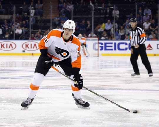 Yegor Zamula performed well enough in two preseason games that the Flyers signed the undrafted defenseman to a contract. The early returns of owning his rights look good.