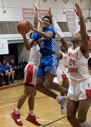 Walnut Ridge defeated Chillicothe 66-37 Friday night in a Division I sectional final game at Walnut Ridge High School in Columbus, Ohio, on March 1, 2019.