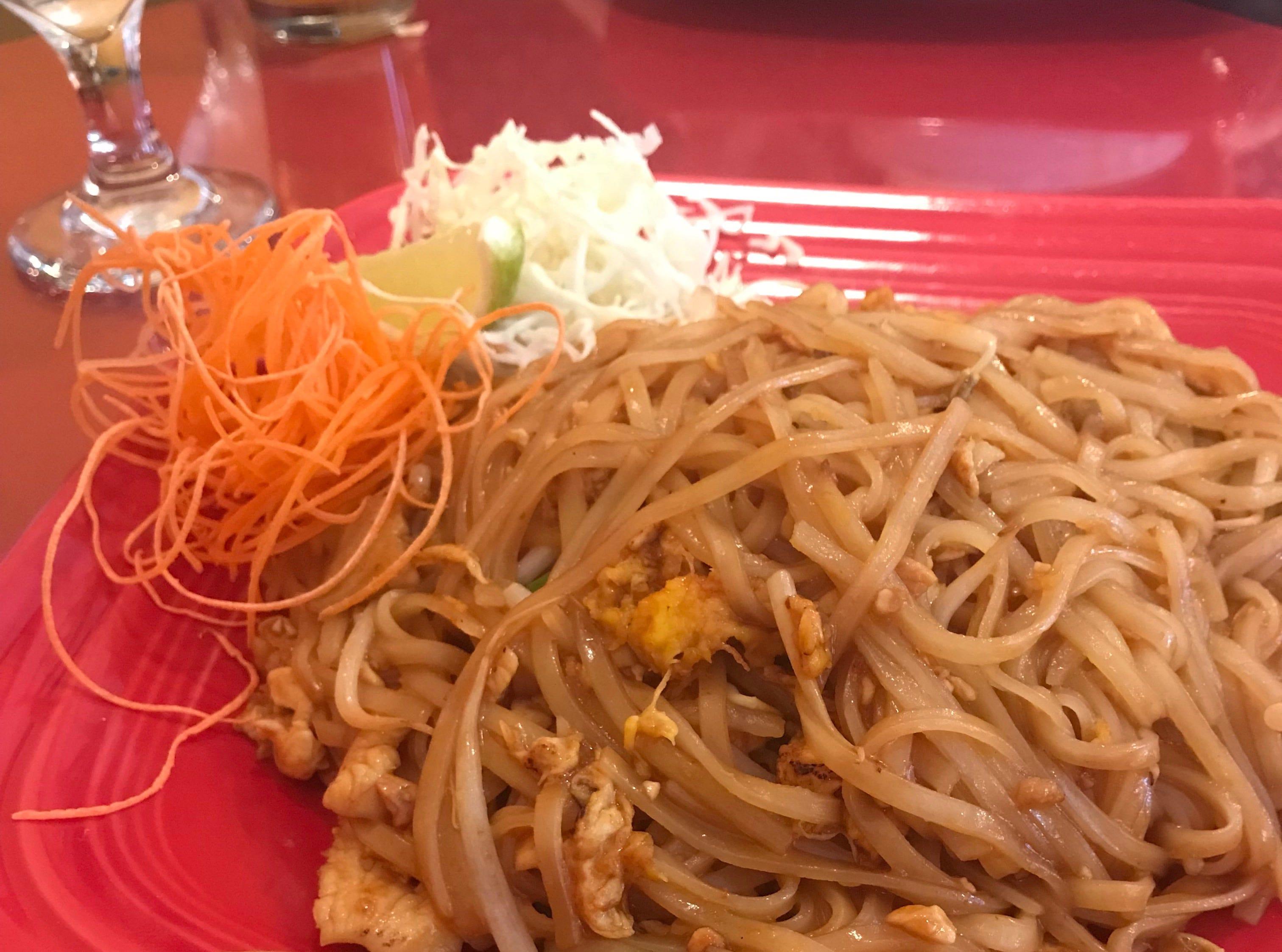 Pad Thai at Zuzap Thai Cuisine in Clive.