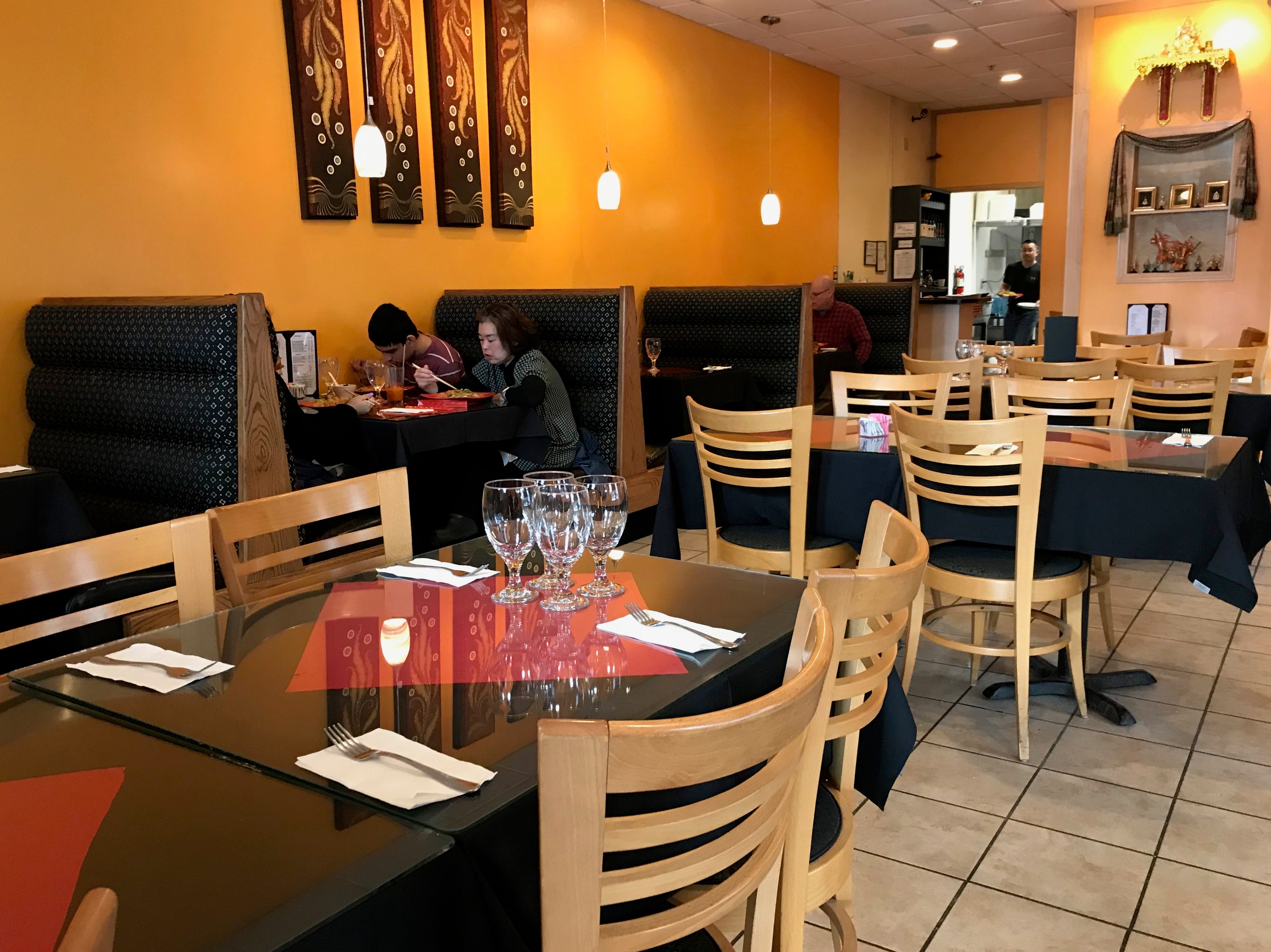 Zuzap Thai Cuisine in clive offers dine-in, delivery and order-out options.