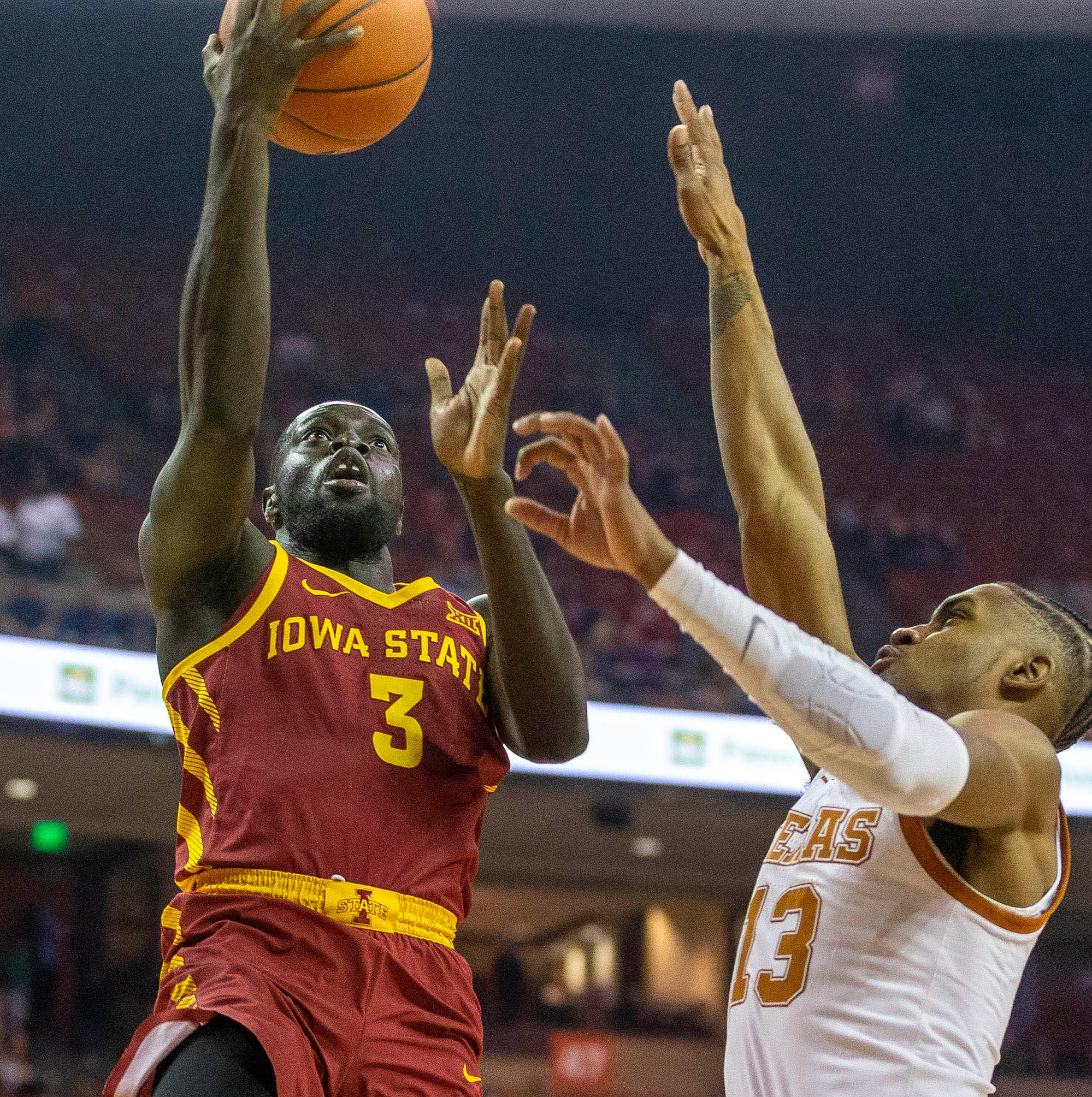 Iowa State's Marial Shayok becomes a consensus all-Big 12 Conference first-team selection