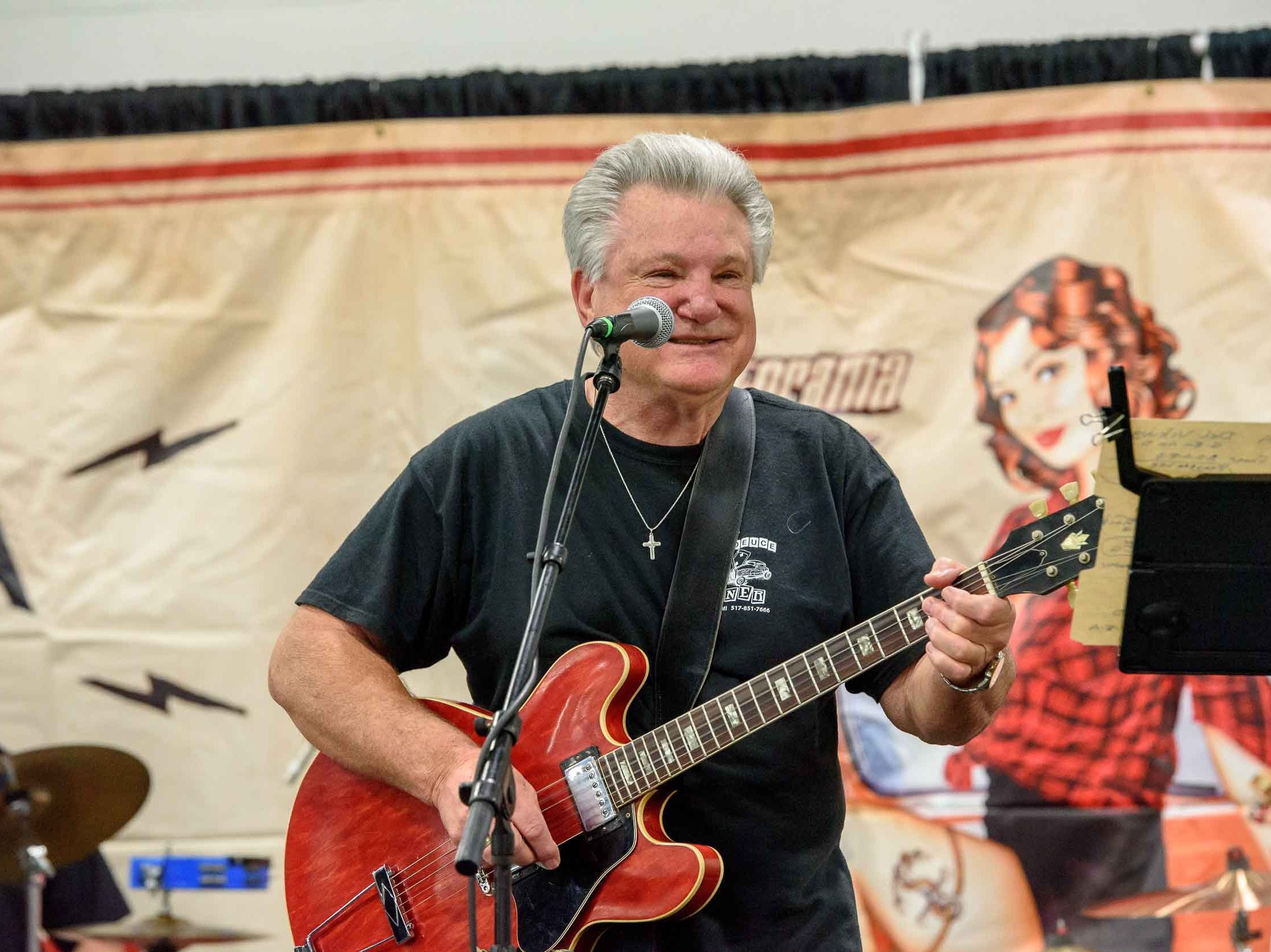 The Fast Eddie Band performed on the Vinsetta Garage stage during Autorama 2019 at Cobo Center, March 2, 2019.