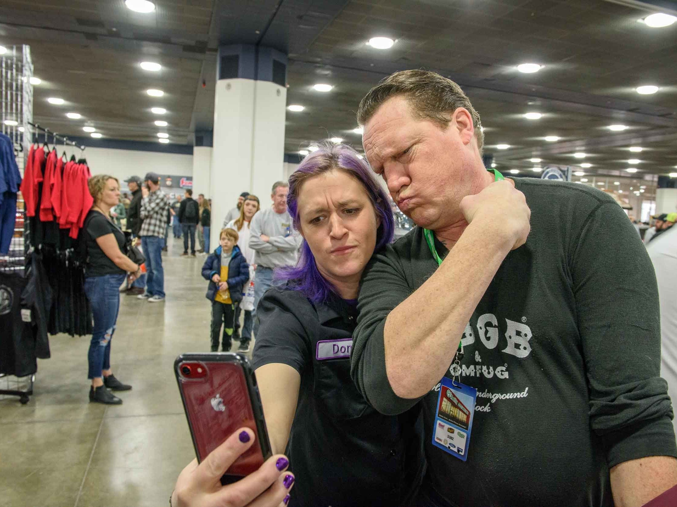 The Detroit Autorama also known as America's Greatest Hot Rod Show returned to Cobo Center, Saturday, March 2, 2019. The showcase of custom cars and hot rods were displayed on two floors.