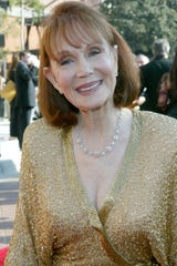 Actress Katherine Helmond attends the 2002 Creative Arts Emmy Awards at the Shrine Auditorium on September 14, 2002 in Los Angeles, California.