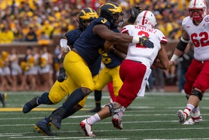"""""""... I'm the best player in this draft offensively and defensively. Period,"""" Rashan Gary says."""