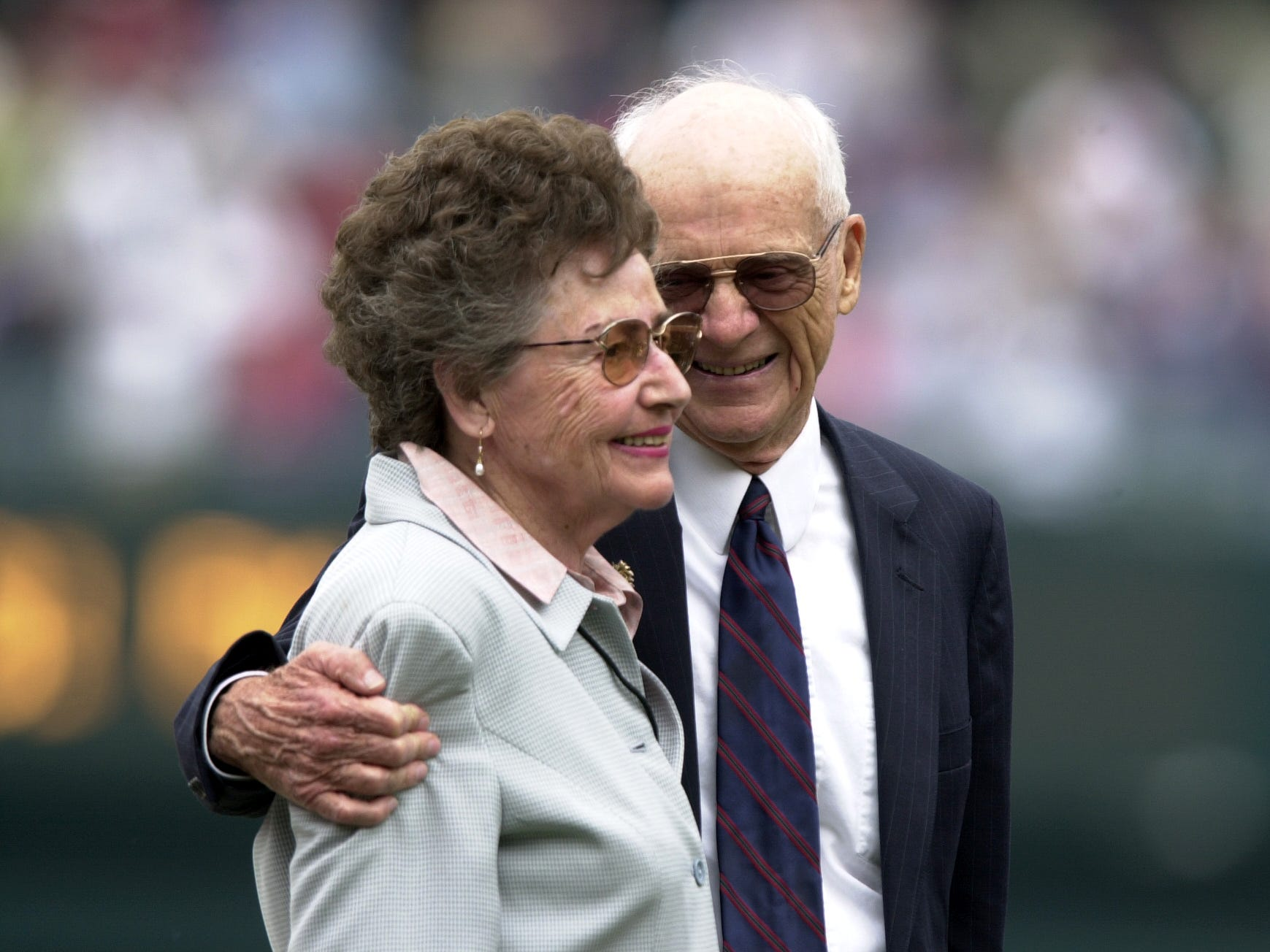 Lulu Harwell, the widow of legendary Tigers broadcaster Ernie Harwell. March 1. She was 99.