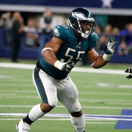 Friday's NFL: Eagles, Graham agree on 3-year extension
