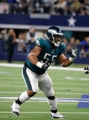 Ex-Wolverine Brandon Graham is the Eagles' longest-tenured defensive player.