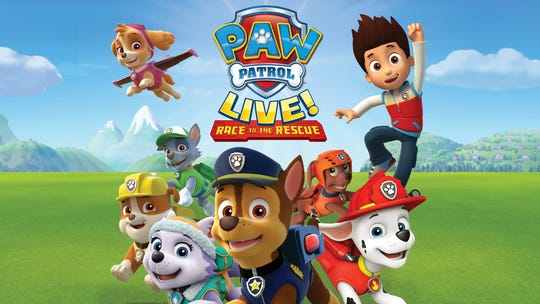 """PAW Patrol to the rescue!"" comes to the Fox Theatre this weekend."