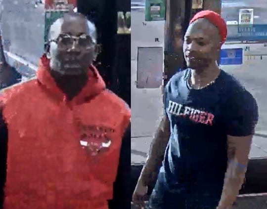 Surveillance images show two people wanted in connection with the unarmed robbery of a 20-year-old man reported about 5:15 p.m., Feb. 21, in the 19000 block of Van Dyke.