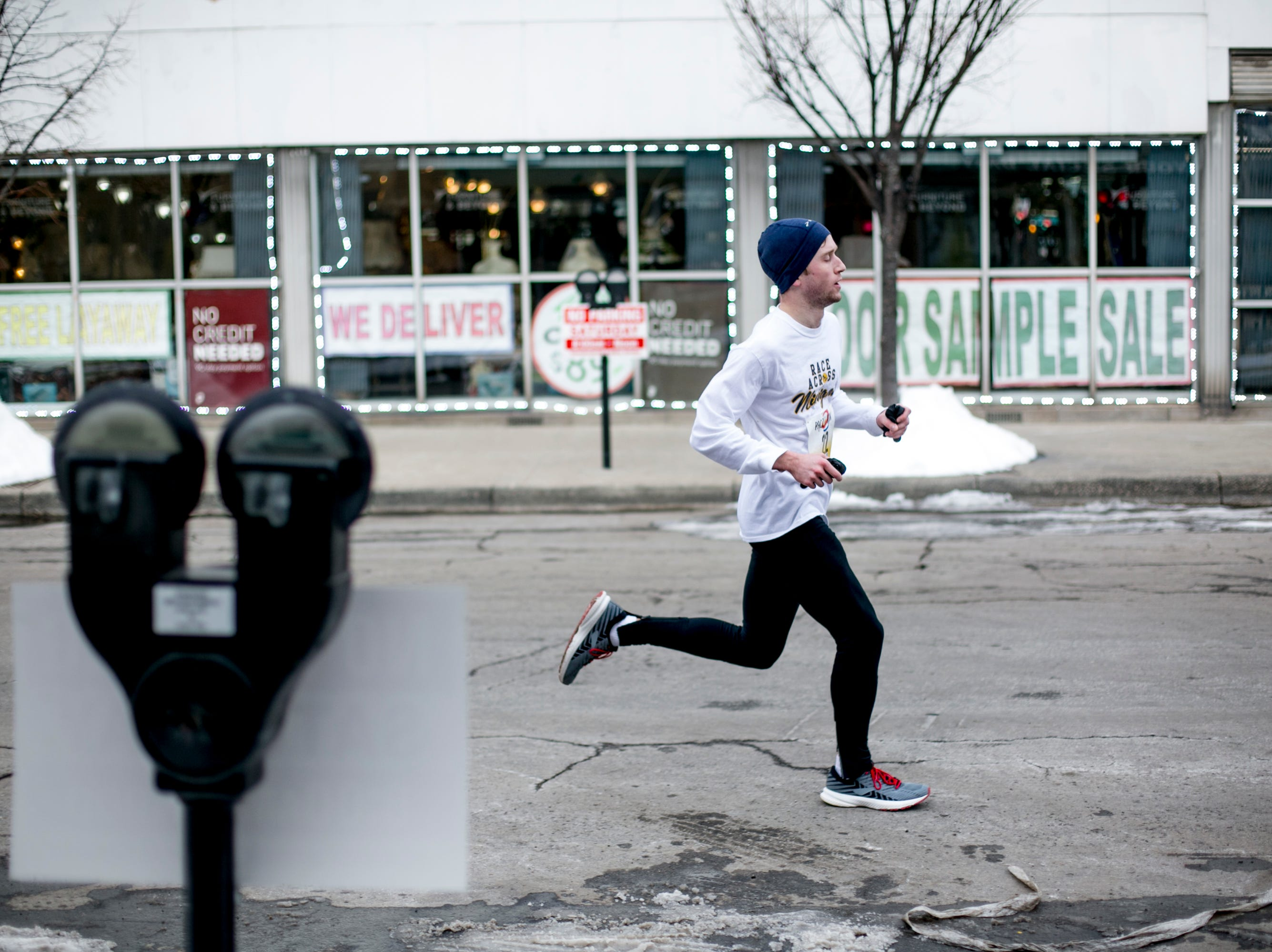 Runners braved the cold windchill to join the Paczki Run annually held on the Saturday before Fat Tuesday.