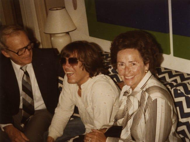 Lulu and Ernie Harwell with Jose Feliciano.