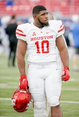 Houston defensive tackle Ed Oliver, who is taking part in the NFL Combine, is very involved in the equine business.