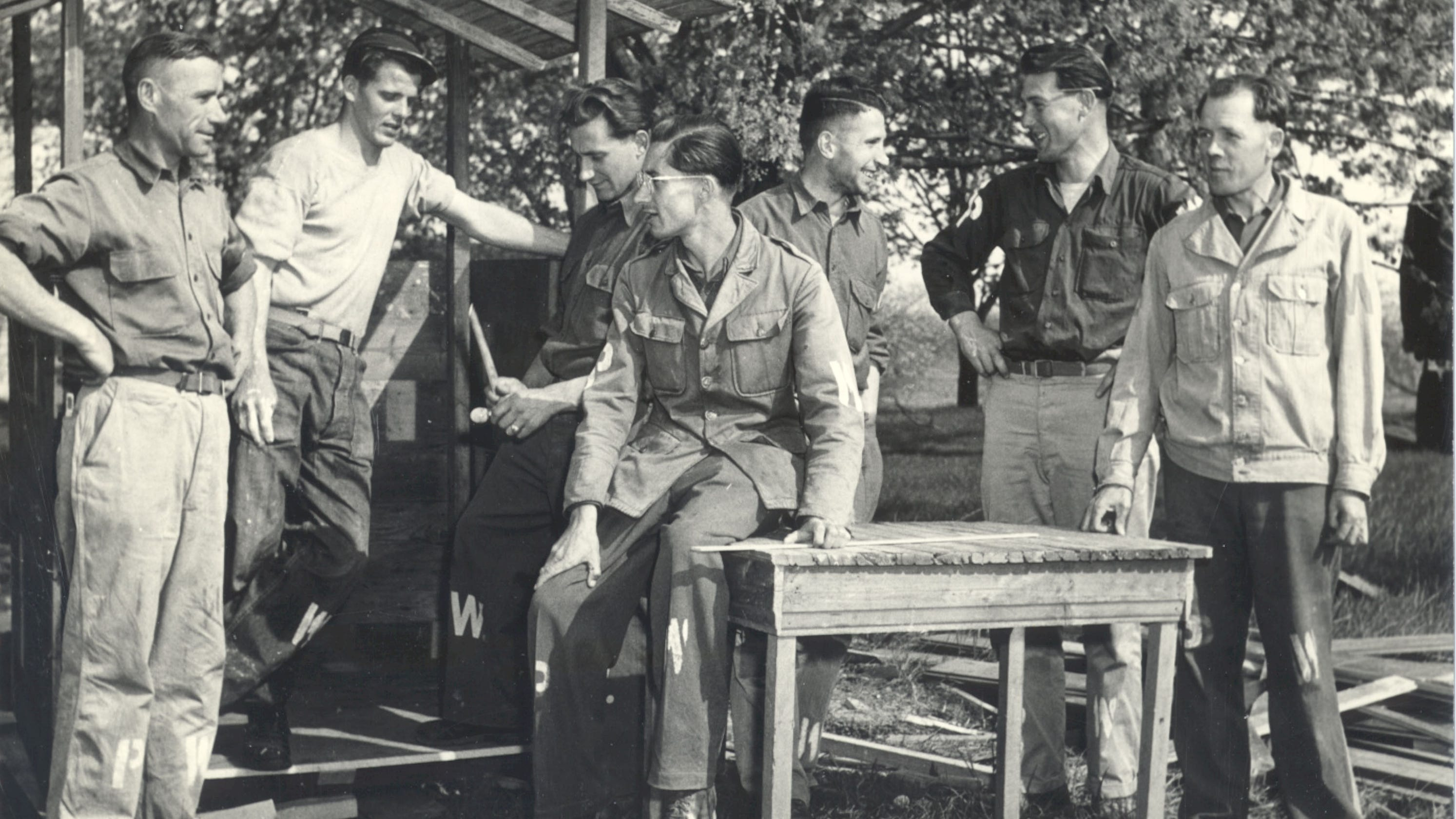 How Wisconsinites And German POWs Built A Separate Peace